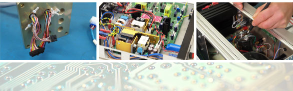 Bespoke cable assembley, manufacturing solutions and electronic components